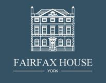 blue and white fairfax house logo